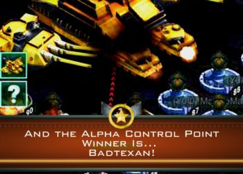 And the Alpha Control Point Winner Is… Badtexan!