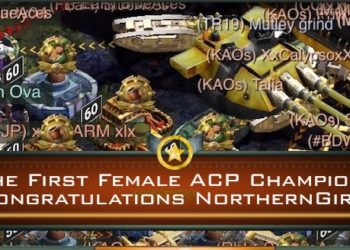The First Female ACP Champion! Congratulations NorthernGirl!