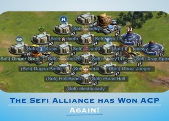 The Sefi Alliance has Won ACP Again!