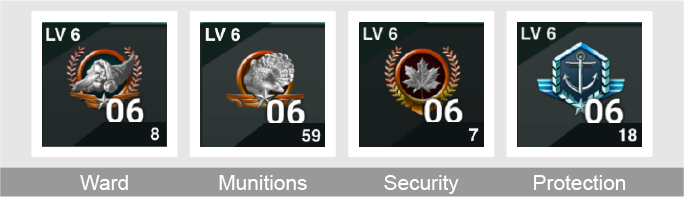 CP Defense Emblem Set header