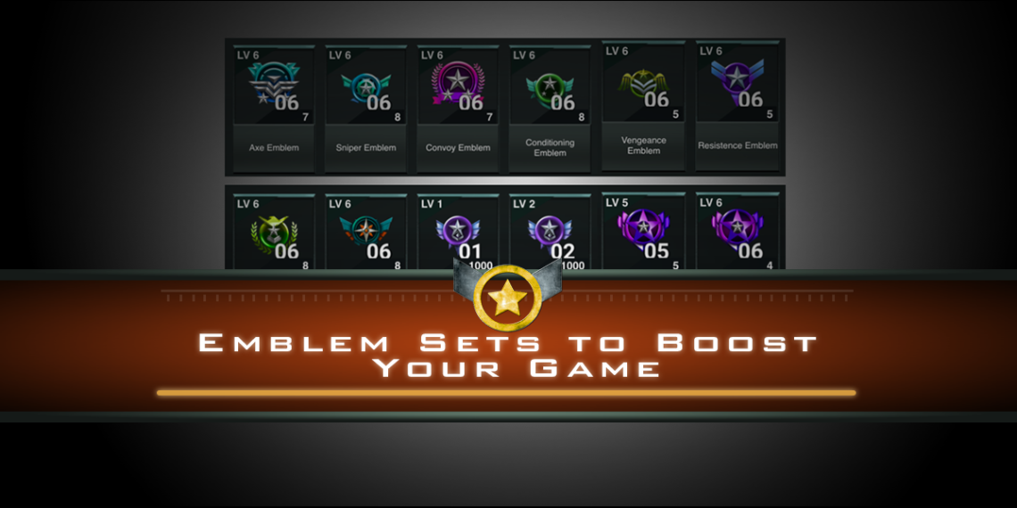Emblem Sets to Boost Your Game