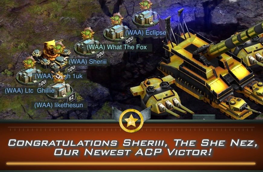 Congratulations Sheriii, The She Nez, Our Newest ACP Victor!