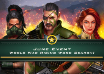 June Event; World War Rising Word Search!