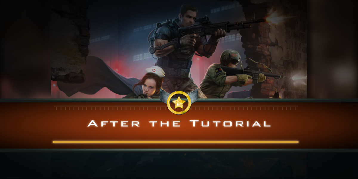 After the Tutorial