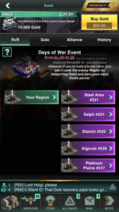 Alliance Event
