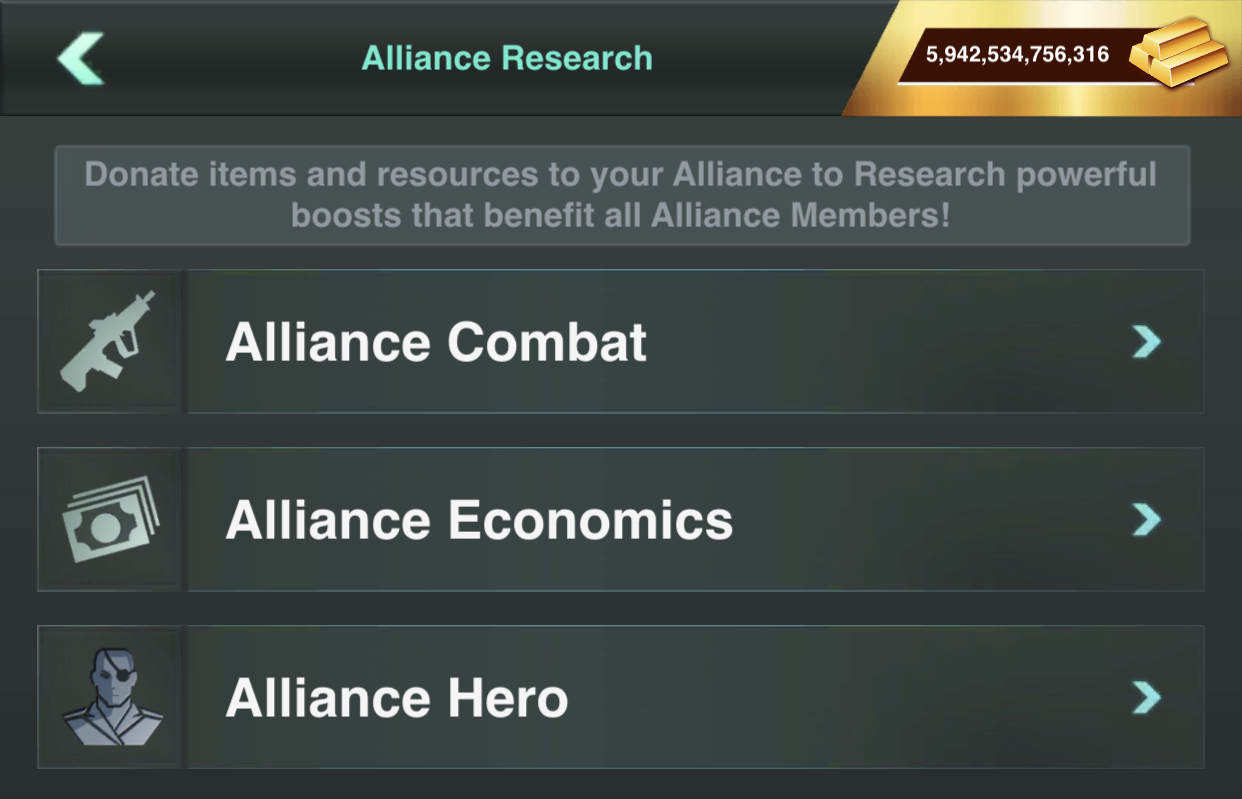 Maintenance with Alliance Research