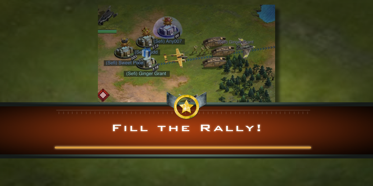 Fill the Rally!