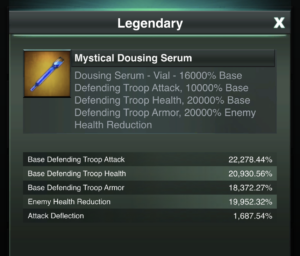 Serums add to defensive boosts.