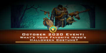 October 2020 Event: What's Your Favorite Hero's Halloween Costume?