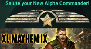 Salute your new Alpha Commander!