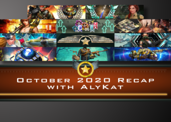 October 2020 Recap with AlyKat