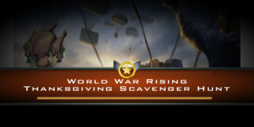 World War Rising Thanksgiving Scavenger Hunt