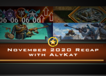 November 2020 Recap with AlyKat