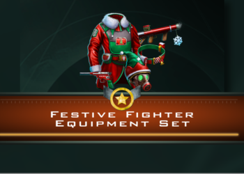 Festive Fighter Equipment Set