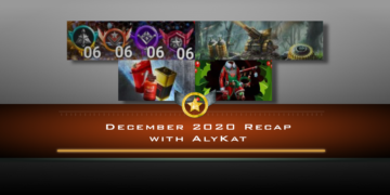 December 2020 Recap with AlyKat