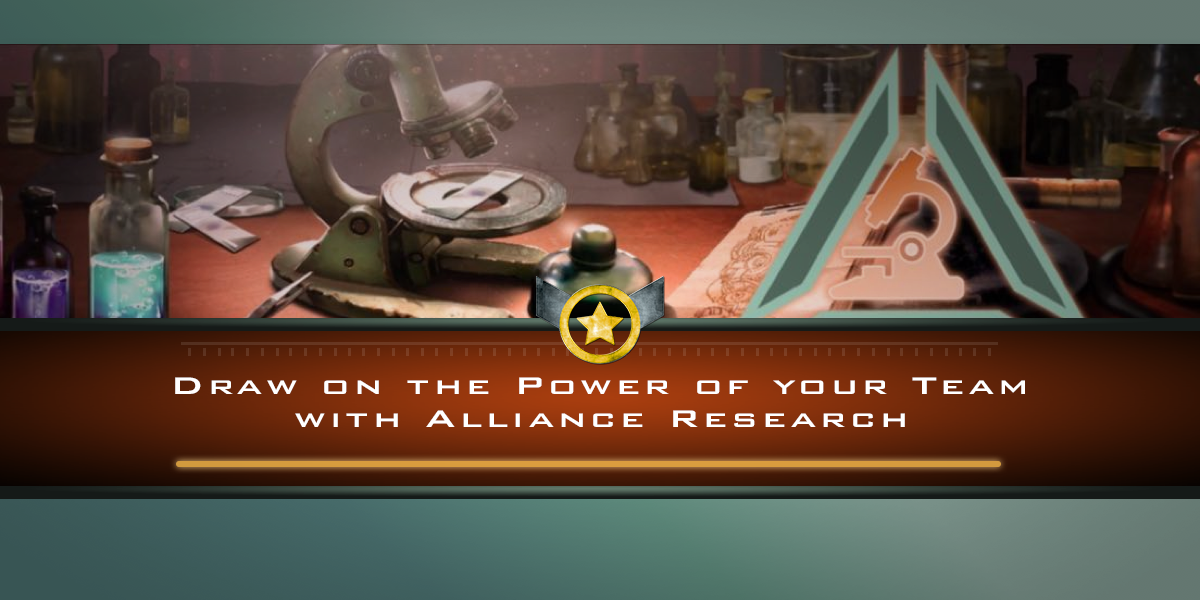 Draw on the Power of your Team with Alliance Research