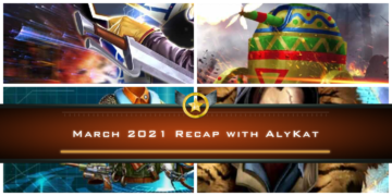 March 2021 Recap with AlyKat