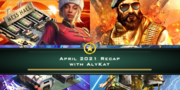 April 2021 Recap with AlyKat