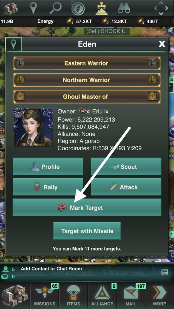 Marking Your Target activates Battle Mark Boosts!