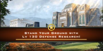Stand Your Ground with Lv 130 Defense Research!