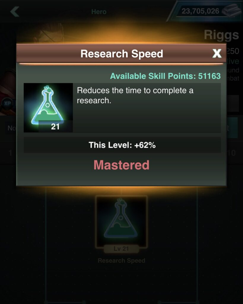 Riggs Research Cost Reduction