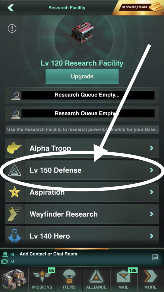 Level 150 Defense Research can Be Found in Your Research Facility