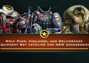 Wolf Pack, Vigilance, and Deliverance Equipment Set Leveling and NEW Accessories